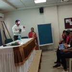 Moderator Guest Lecture by Prof. Prakash Parkhe. (2)