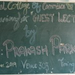 Moderator Guest Lecture by Prof. Prakash Parkhe. (4)