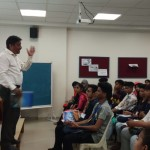 Moderator Guest Lecture by Prof. Prakash Parkhe. (5)