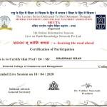 Shahnaaz Khan from OCCM Jr. College Got certificate (6)