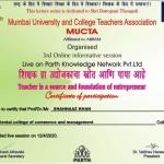 Shahnaaz Khan from OCCM Jr. College Got certificate (7)