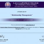 Pankaj Chiplunkar College Librarian Got certificate-4